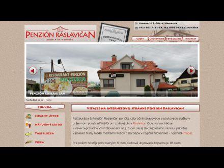 www.penzion-raslavican.sk
