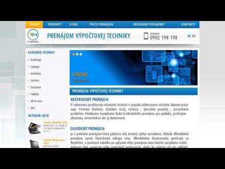 www.itrental.sk
