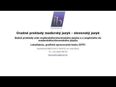 www.ibpreklady.sk