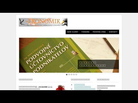 www.k-ekonomik.sk