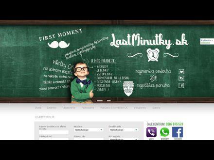 www.lastminutky.sk