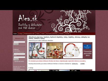 www.alea.sk