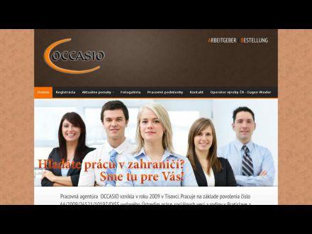 www.occasio.sk