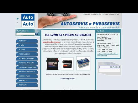 www.autoservisblazek.sk