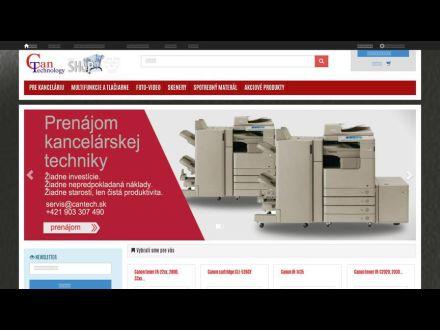 www.cantech.sk