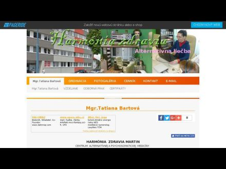 www.harmoniazdravia.wbl.sk
