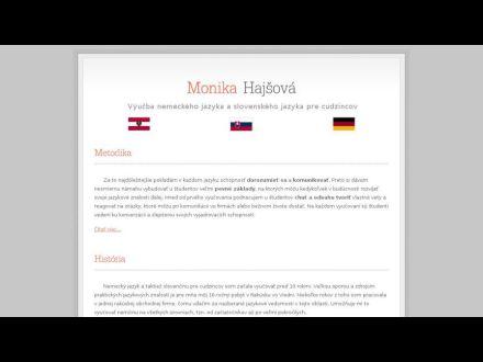 www.monikahajsova.sk