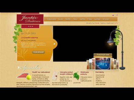 www.hoteljantar.sk