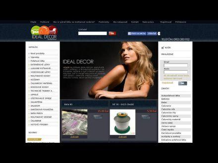 www.idealdecor.sk