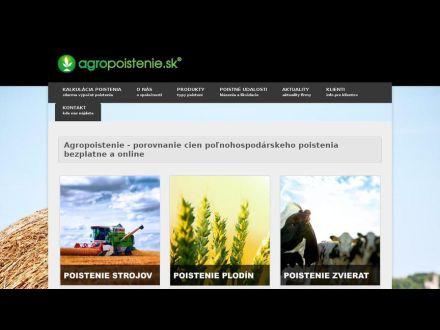 www.agropoistenie.sk