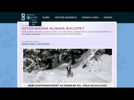 www.bullypetklinika.sk