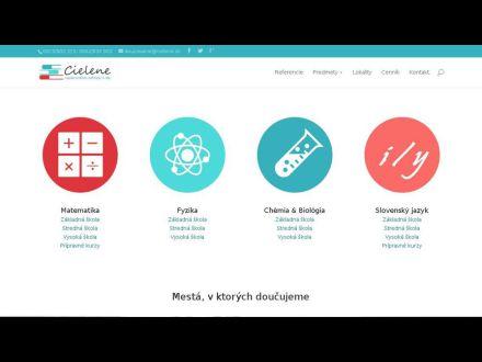 www.cielene.sk