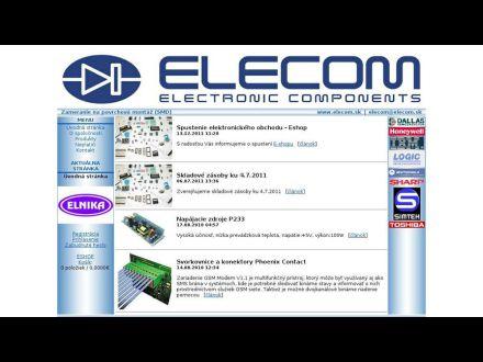 www.elecom.sk