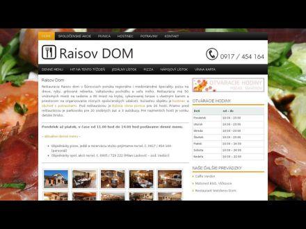 www.raisovdom.sk