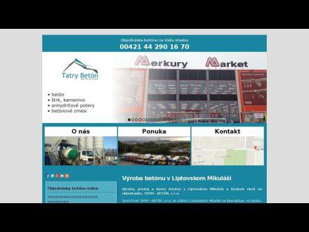 www.tatrybeton.sk