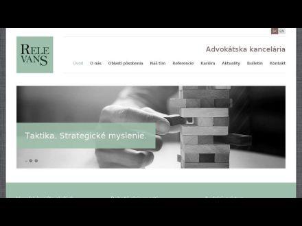 www.relevans.sk