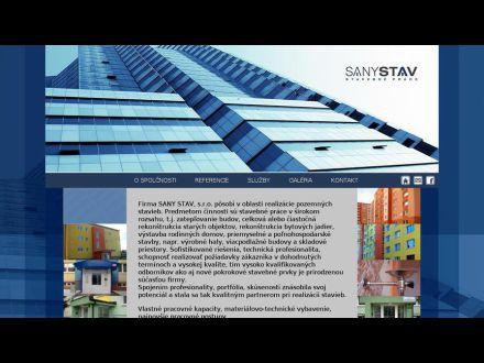 www.sanystav.sk