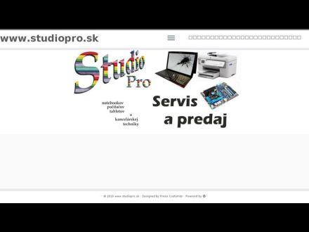 www.studiopro.sk
