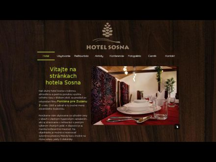 www.hotelsosna.sk