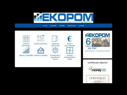 www.ekopom.sk