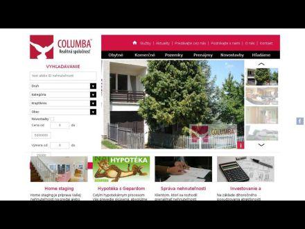 www.columba.sk