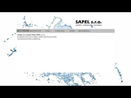 www.sapel.sk