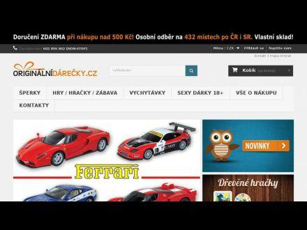 www.originalnidarecky.cz