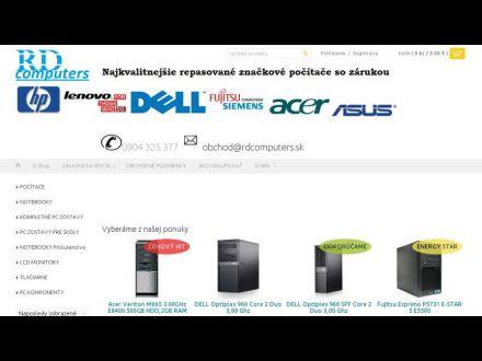 www.rdcomputers.sk
