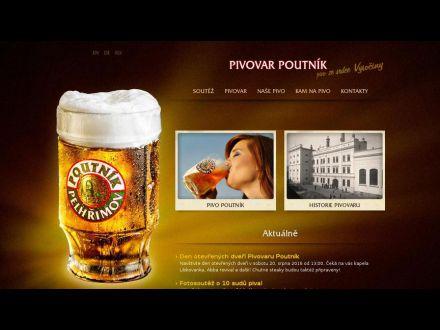 www.pivovarpoutnik.cz