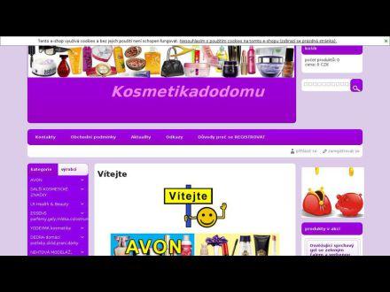 www.kosmetikadodomu.cz