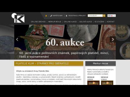 www.filatelie-klim.com