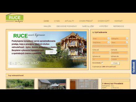 www.ruce.sk