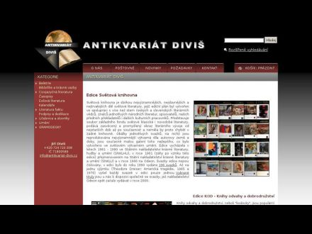 www.antikvariat-divis.cz