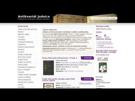 www.antikvariat-judaica.cz