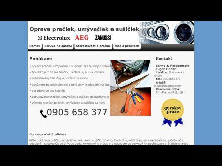www.oprava-praciek.eu