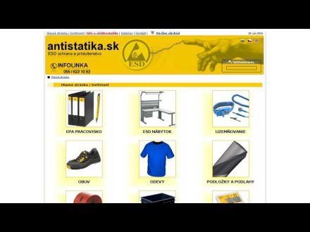 www.antistatika.sk