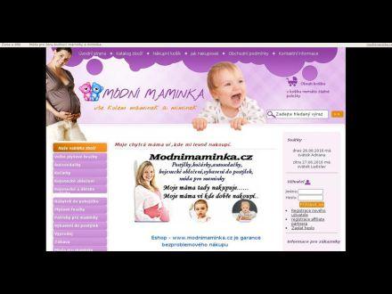 www.modnimaminka.cz
