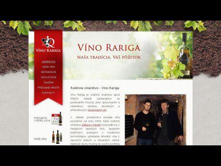 www.vinorariga.sk