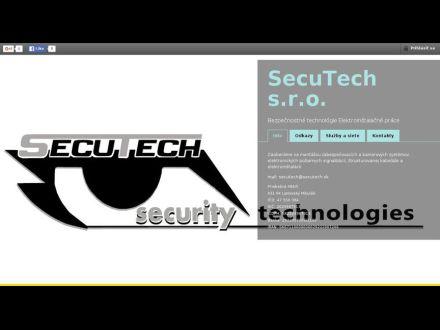 www.secutech.sk
