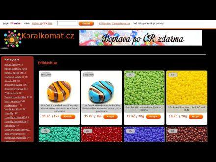 www.koralkomat.cz