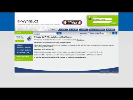 www.e-wynns.cz