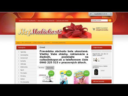 www.najmalickosti.sk