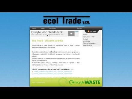 www.ecoltrade.sk