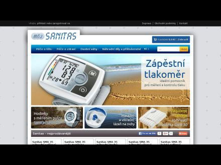 www.muj-sanitas.cz
