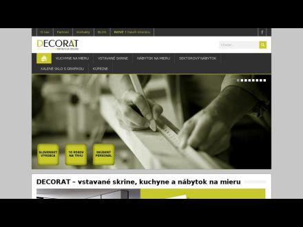 www.decorat.sk