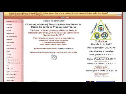 www.czsvranov.edupage.sk