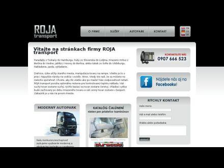 www.rojatransport.sk