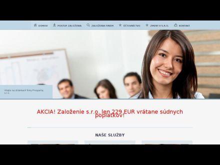 www.prosperta.sk
