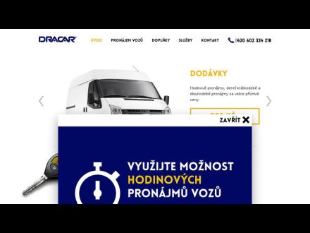 www.autopujcovna.dracar.cz
