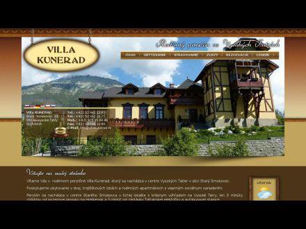 www.villakunerad.sk